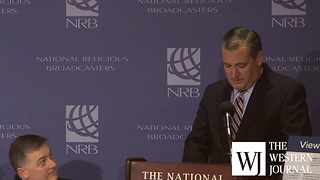 Ted Cruz at NRB - Video