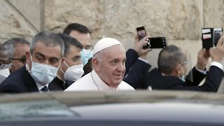 Pope Francis Starts Historic Iraq Trip To Boost Fading Christians