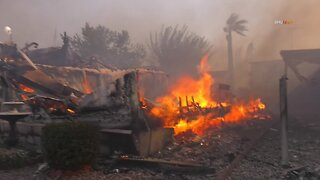 Mobile Home Park Fire Near Los Angeles Kills 2 People
