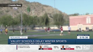 Valley schools delay winter sports amid COVID-19