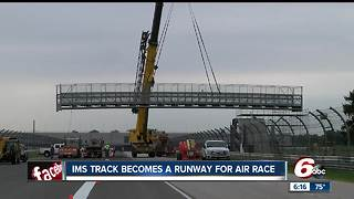 IMS track to become a runway for air race - Video