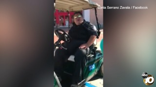 RAW: Lemon Grove security guard questions woman's immigration status - Video
