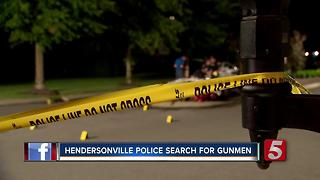 Dozens Of Shell Casings Found After Shooting - Video
