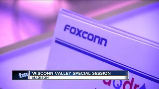 WI lawmakers meet to discuss Foxconn package - Video