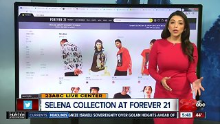 Selena collection at Forever 21
