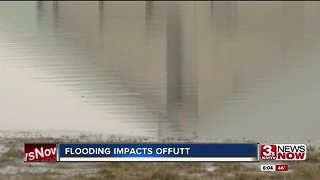 Flooding impacts Offutt