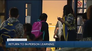 Return to in-person learning