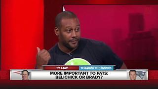 Patriots Legend Ty Law Says Bill Belichick Is More Important To Patriots Than... - Video