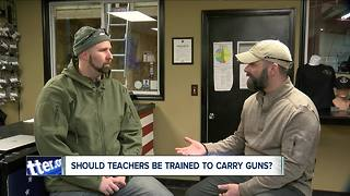 Grand Island Company trains teachers to carry guns in classroom - Video