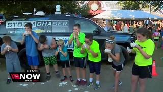 Brian Gotter's Cream Puff Eating Contest - Video