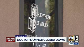Mystery grows over Glendale doctors office closure - Video