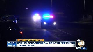2nd shootout on same Lemon Grove street in seven years - Video