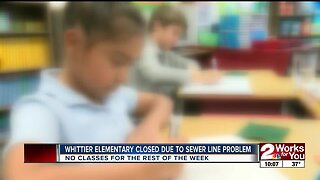Whittier Elementary temporarily closed due to sewer line issue