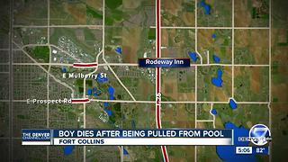 4-year-old boy dies days after drowning in Fort Collins motel pool - Video
