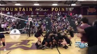 Salpointe volleyball repeats as state champions - Video