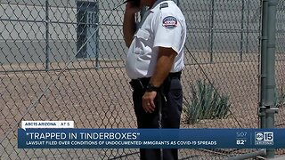 Lawsuit filed over conditions of undocumented immigrants amid coronavirus