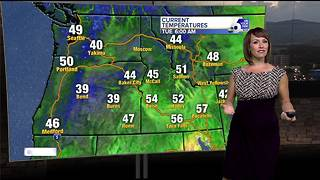 A slight cool-down Tuesday before heat ramps up again mid-week