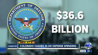 Defense is worth $36 billion in Colorado - Video