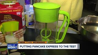 Will It Work: Testing out the Pancake Express