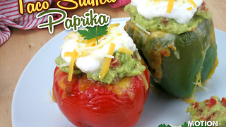 How to make taco stuffed peppers - Video