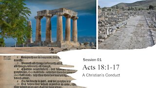Session 01 | Acts 18:1-17
