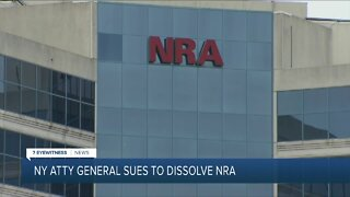 Attorney General James Files Lawsuit to Dissolve NRA