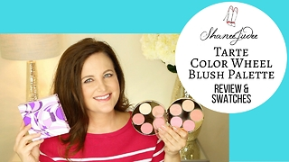 Tarte Color Wheel Amazonian Clay blush palette | Review & demo | ShaneeJudee - Video