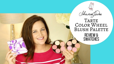 Tarte Color Wheel Amazonian Clay blush palette | Review & demo | ShaneeJudee