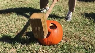 Smash Those Pumpkins!