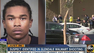 Police searching for Walmart shooting suspect