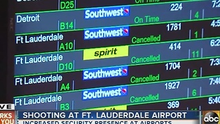 BWI Airport reacts to Ft. Lauderdale airport shooting - Video
