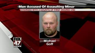 Ingham County man accused of sexually assaulting minor