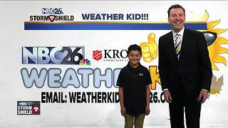 Meet Tristan Lawe, our NBC26 Weather Kid of the Week! - Video