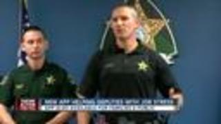 Pasco Sheriff's Office develops App to help deputies deal with Post Traumatic Stress - Video