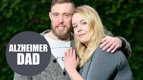Dad, 30, becomes one of Britain's youngest Alzheimer's victims