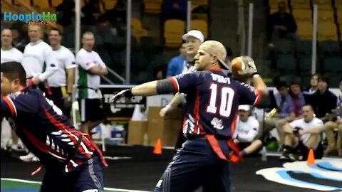 Wounded Warriors and 9/11 First Responders Play Flag Football