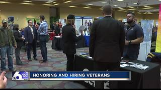 Hire-A-Veteran draws hundreds in Boise - Video