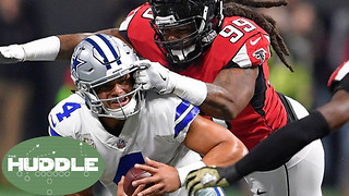 Cowboys Get OBLITERATED without Ezekiel Elliott; Is Dak Prescott Overrated? -The Huddle - Video
