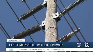 Customer speaks on SDG&E power outage