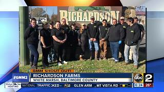 Good morning from Richardson Farms - Video
