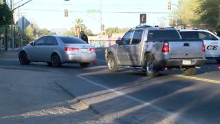 Raw video: School bus hits pedestrian near Swan and Fort Lowell - Video