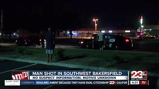 Overnight shooting leaves man with moderate injuries - Video