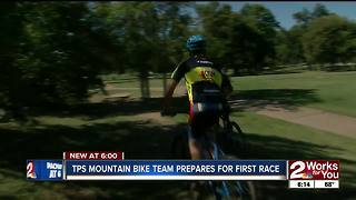 TPS mountain bike team prepares for first race this weekend - Video