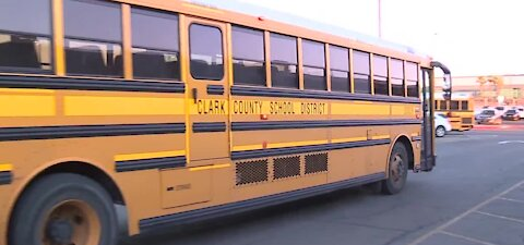 New bus rules for Clark County School District as students return to school
