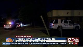 Tulsa Police investigate overnight stabbing - Video