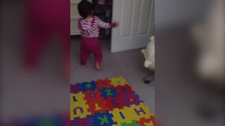 """""""Toddler Girl Hides When Dad Asks If She Pooped"""""""