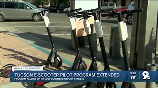 Tucson e-scooter pilot program extended another 6 months