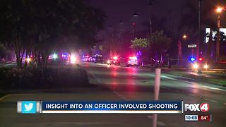 Insight into an officer involved shooting