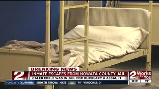 Search continues for Nowata County Jail inmate