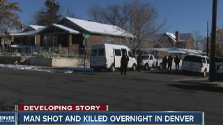 Denver Police investigating homicide - Video